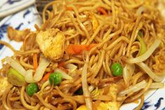 Chinese Chicken Chow Mein (Noodles)