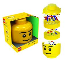 Simply pour your Lego bricks into the Sorter, shake it gently and the bricks will magically sort themselves into the small, medium and large piece sections. Toys Uk, Kids Toys, Lego Sorting, 1968 Ford Mustang Fastback, Lego Head, Kids Board, Lego Pieces, Lego Brick, Lego City