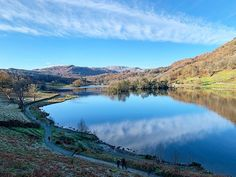 If you pick the right location and time of day to take your dog for a walk you can capture an absolutely stunning view as seen in today's photograph.  Andy Crossley (@andycrossley) was walking his dog Winston when he photographed Rydal Water in the Lake District in Cumbria.  Use #bbcengland and #englandsbigpicture to share your pictures with us.  #england #picoftheday #photooftheday #photosofbritain #photosofengland #top_10_pics_of_the_week #ukpotd #capturingbritain #england2019… Stunning View, Absolutely Stunning, England Countryside, Cumbria, Lake District, Big Picture, Travel Around, Great Britain, Traveling By Yourself