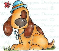 Blaze - Dogs - Animals - Rubber Stamps - Shop