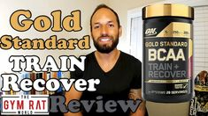 Gold Standard BCAA Train + Recover by Optimum Nutrition Supplement Review