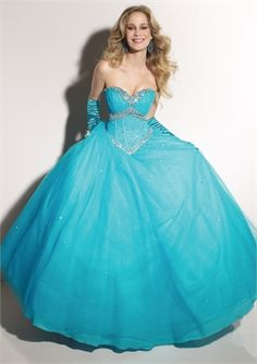 Ball Gown Sweetheart Neckline Floor Length With Beadings Prom Dress PD10087 www.dresseshouse.co.uk $130.0000