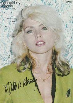 "( MUSIC ♪♫♪♪ 2016 ) - ♪♫♪♪ DEBBIE HARRY (Angela Tremble) Sunday, July 01, 1945 - 5' 3'' - Miami, Florida, USA. ""The lead singer of Blondie."""