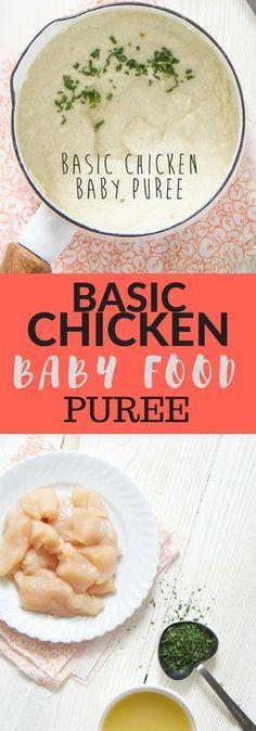 Chicken Baby Puree Recept