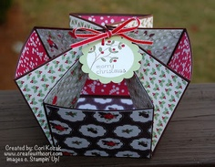 Holly Berry Bouquet Gift Basket Tutorial