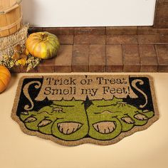 Monster Feet Doormat - TerrysVillage.com
