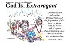 God Is... Extravagant Painting