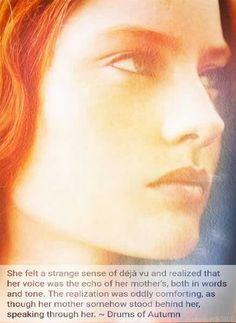 Brianna Outlander Book Series, Outlander 3, Drums Of Autumn, Diana Gabaldon, Spiritual, Inspirational, Drawing, Tv, Words