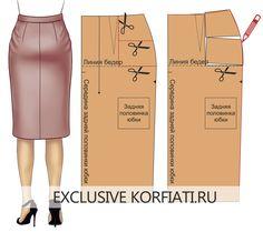 Los defectos de aterrizaje faldas - muslos protuberantes