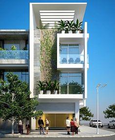 Xây dựng thiết kết các mẫu nhà phố 3 tầng với phong cách hiện đại,sang trọng làm nổi bật ngôi nhà của bạn giữa phố phường đông đúc
