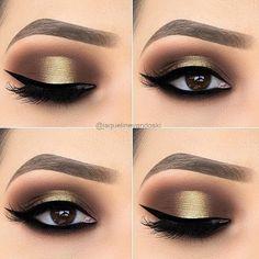 Gorgeous Makeup: Tips and Tricks With Eye Makeup and Eyeshadow – Makeup Design Ideas Shimmer Eye Makeup, Smokey Eye Makeup, Eyeshadow Makeup, Makeup Cosmetics, Eyeliner, Makeup Kit, Eyeshadows, Pink Eyeshadow, Makeup Case