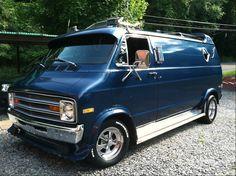 custom 70s vans for sale | vansajammin's 1975 Dodge B-Series