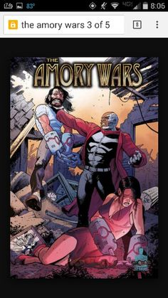 The Amory Wars 2 of 5 Cover A
