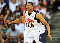 2012 U.S. Olympic Men's Basketball Team - Anthony Davis, Forward