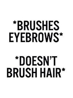 Eyebrows on fleek  // Best Beauty Memes