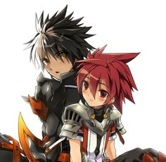 Raven and Elsword
