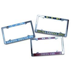 ADPi license plate covers