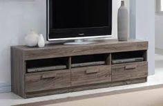 Acme Furniture Alvin Rustic Oak Wood TV Stand