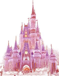 It was all Started by a Mouse. I will never forget the first time I saw the castle done up in the pink Christmas lights!