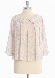 "Most lovely ""mon petit fluer"" blouse by Ruche."