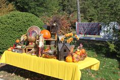 Fall Festival decorations #DTNFallContest