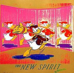 ANDY WARHOL-THE NEW SPIRIT (DONALD DUCK), FS II.357-POPARTGALERIEFLUEGELRONCAKNUREMBERG