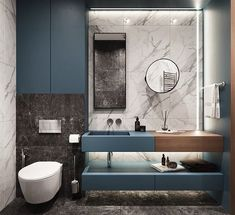 Washroom Design, Modern Bathroom Design, Bathroom Interior Design, Large Bathrooms, Hotel Bathrooms, Bathroom Crafts, Bathroom Goals, Master Bathroom, Architecture