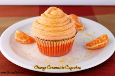 The Cupcake Project: Orange Creamsicle Homemade Cupcakes Recipe