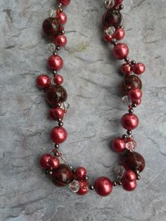 Homemade floating necklace / ladies jewelry by JHFWBeadsAndFindings at #Etsy