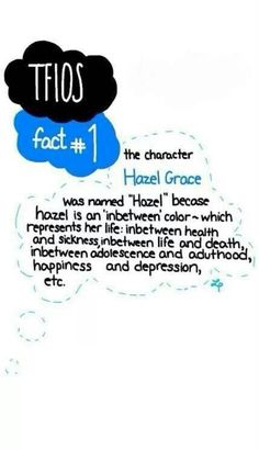 The fault in our stars fact 1