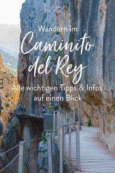 Wandern in Spanien ist sehr beliebt! Vor allem der Caminito del Rey in Andalusien zählt zu den spannendesten und aufregendsten Wander- und Klettersteige. In diesem Beitrag findet ihr alle wichtigen Infos und Tipps zur Ticketbuchung, Anfahrt und Ausrüstung. Auch jede Menge Inspirations Bilder findet ihr im Beitrag.