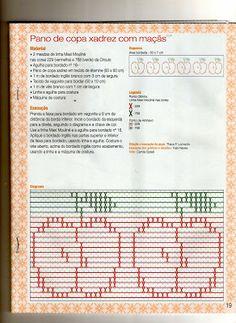 Fabinha Gráficos Para Bordados: Ponto Oitinho                                                                                                                                                     Mais Types Of Embroidery, Embroidery Stitches, Chicken Scratch Patterns, Monks Cloth, Swedish Weaving, Bargello, Cross Stitch Patterns, Needlework, Notebook