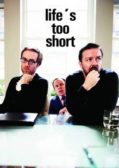 Life's too short (2-disc)