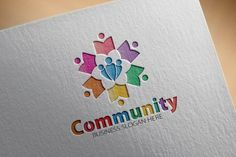 Community Logo By fastudiomedia Peeps Science Experiment, Business Slogans, Family Logo, Church Logo, Communication Logo, Education Logo, Education Quotes, Community Logo, Science Activities For Kids