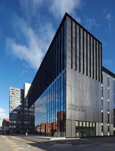 """The """"Manchester School of Art"""", Feilden Clegg Bradley Studios"""