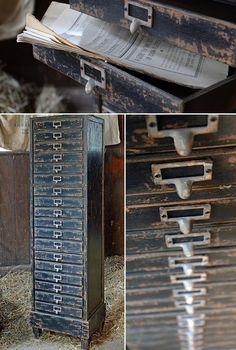 Printers Cabinet | T