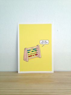 The EverReliable Abacus  Art Print A4 by Haasbroek on Etsy, $35.00