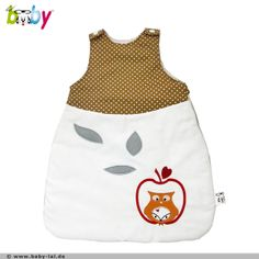 Baby Schlafsack Eule // sleeping bag for babys with owl by BABY LAL via DaWanda.com