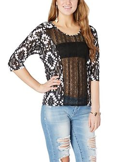 image of Tribal Lace Front Top