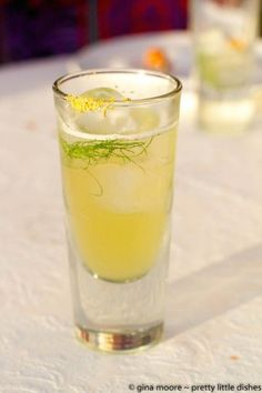 """""""Kiss My Grass"""" cocktail – a refreshing balance of citron vodka, sweet and sour mix, lemon juice, and a green super juice made of healthy green things like kale, spinach, etc."""