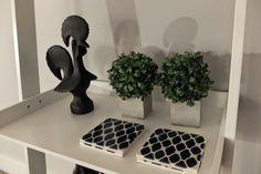 Sardine House - Alfama - Lisbon  Grey, Blue, Black and White  Galo de Barcelos Isabel Pires de Lima - Interior Design