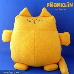Franklin the Fat Cat softie pattern