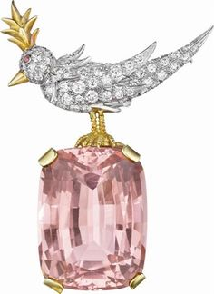 "Jean Schlumberger for Tiffany & Co. ""Bird on a Rock"" Brooch"