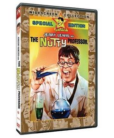 The Nutty Professor - starring Jerry Lewis - To improve his social life, a nerdish professor drinks a potion that temporarily turns him into the handsome, but obnoxious, Buddy Love The Nutty Professor 1963, All Movies, I Movie, Funniest Movies, Kathleen Freeman, Best Classic Movies, Stella Stevens, Buddy Love, Books