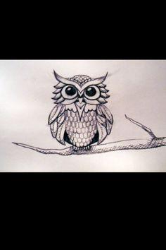 Owl tatt idea