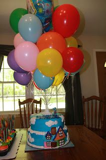 "Musings Of A Millitary Mama: A Disney ""Up"" Themed Birthday Party Fit For A King!"