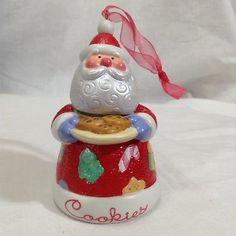 Santa Cookies 2003 Hallmark Cookie Jar 2nd Series Ornament Sweet Tooth Treats