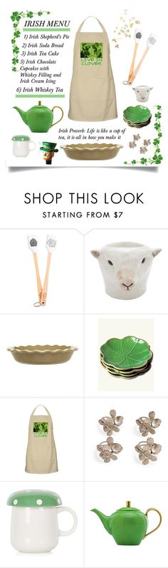 """Life is Like a Cup of Tea'"" by dianefantasy ❤ liked on Polyvore featuring interior, interiors, interior design, home, home decor, interior decorating, Tovolo, Quail, Emile Henry and Topshop"