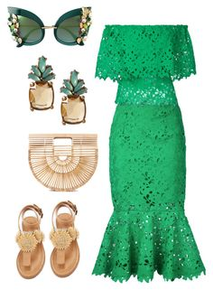 """""""Untitled #1648"""" by styledbytjohnson ❤ liked on Polyvore featuring Bambah, Cult Gaia, Dolce&Gabbana, Banana Republic and Bettye African Lace Dresses, African Fashion Dresses, Yellow Pencil Skirt Outfit, Corporate Outfits, Kente Styles, Mode Chic, Lace Outfit, Girl Fashion, Womens Fashion"""