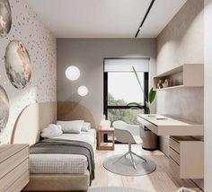 Cómo cambiar de una habitación infantil a juvenil – Puntos clave Small Room Design Bedroom, Room Ideas Bedroom, Home Room Design, Home Bedroom, Bedroom Decor, Luxury Kids Bedroom, Bedrooms, Bedroom Ideas For Small Rooms, Small Room Interior